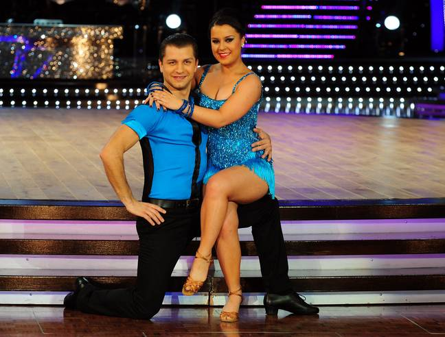 Dani starred in Strictly Come Dancing in 2012