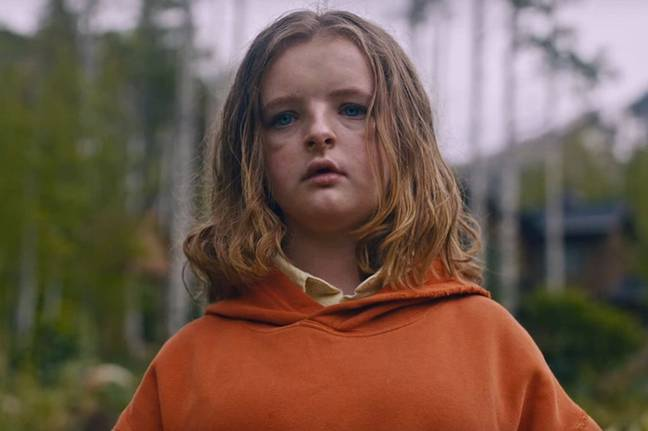 Millie Shapiro gave a palpitation-inducing performance as the clucking, possessed Charlie (Credit: Netflix)