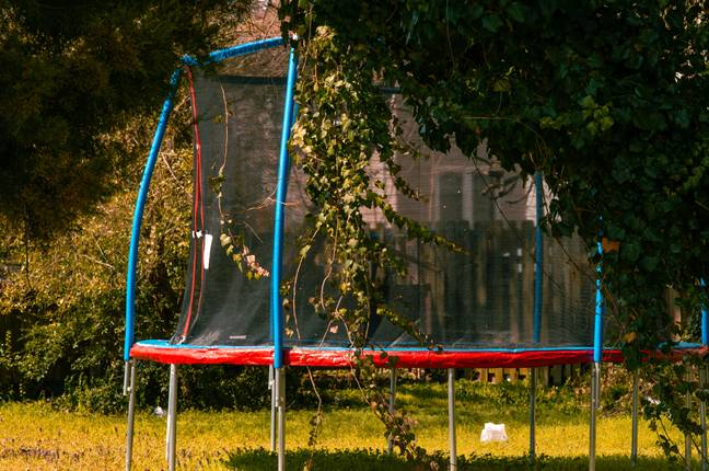 It's the ultimate accessory for your trampoline (Credit: Unsplash)