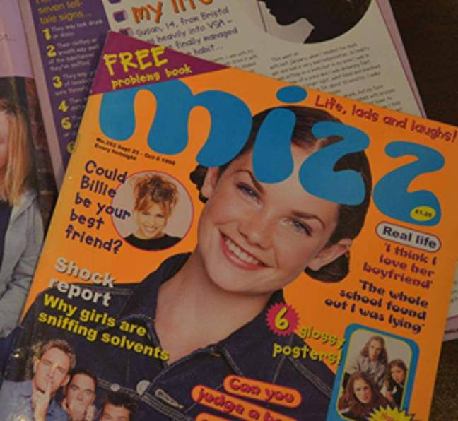 Ruth appeared on the Mizz cover twice
