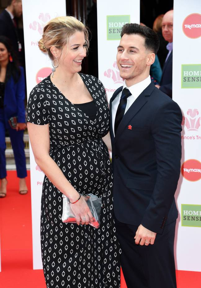Gorka Marquez and Gemma Atkinson shared the struggles they went through during Gemma's difficult pregnancy. (Credit: PA Images)