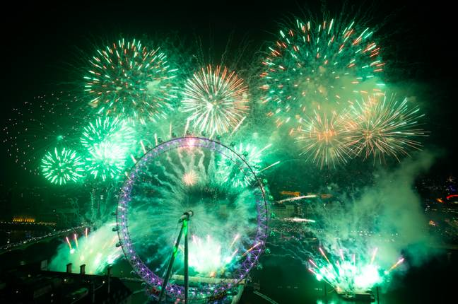 London's New Year's Eve fireworks display will be cancelled, Sadiq Khan has confirmed (Credit: PA)