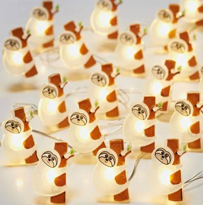 A pack of 20 lights costs a wallet-friendly £3 and makes a novel Secret Santa gift or stocking filler (Credit: B&M)