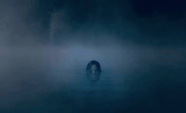 Something's lurking in the water (Credit: Netflix)