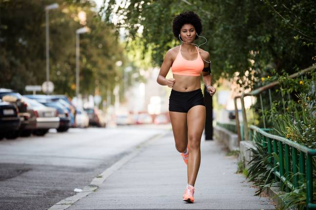 Exercise is also a great way to maintain a regular cycle (Credit: Shutterstock)