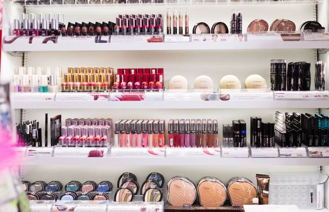 New makeup haul, anyone? (Credit: Shutterstock)