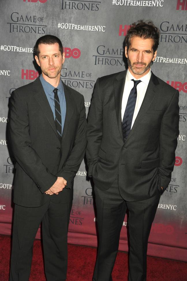 D.B Weiss and David Benioff co-created HBO hit series 'Game of Thrones' (Credit: PA)