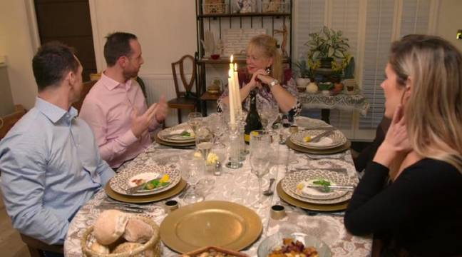 The men even have to meet the parents (Credit: Channel 4)