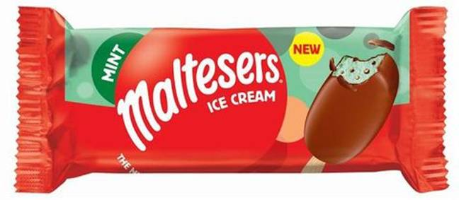 The Mint Maltesers Ice Cream is also now available (Credit: Maltesers)