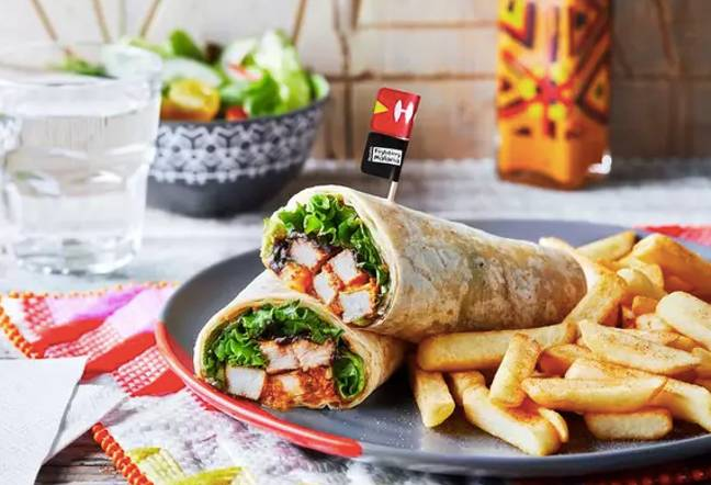 Nando's has launched a Mozan wrap (Credit: Nando's)