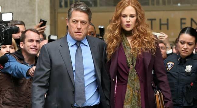 Nicole Kidman stars alongside Hugh Grant in The Undoing (Credit: HBO)