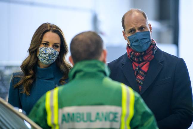 The Duke and Duchess thanked communities and key workers for their role in the pandemic (Credit: Shutterstock)