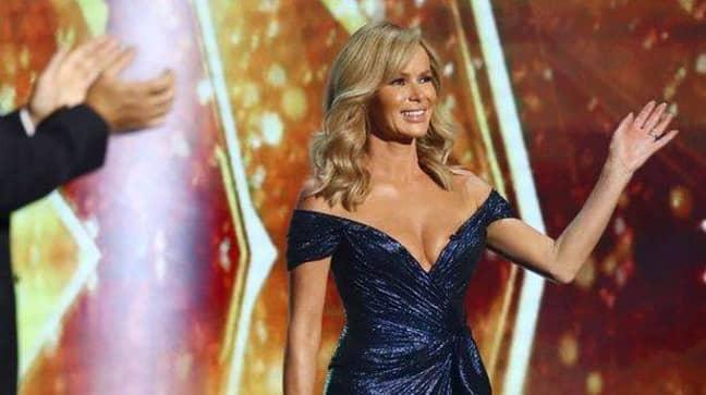 Ofcom reportedly received 235 complaints concerning Amanda's dress (Credit: ITV)