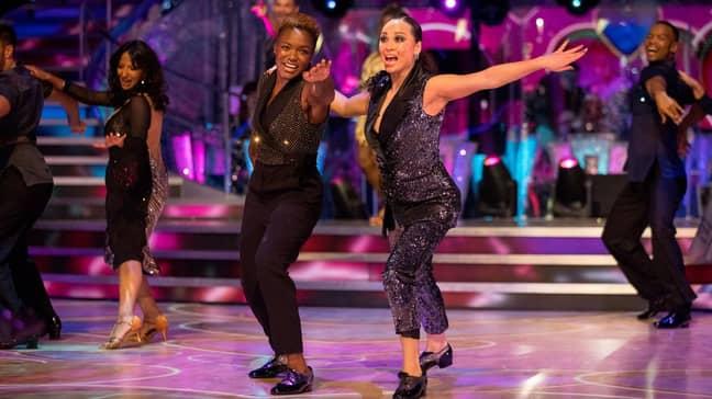 Katya and Nicola will not perform again (Credit: BBC)