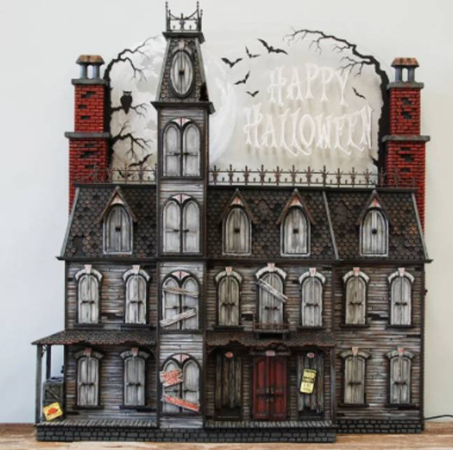 A Halloween advent calendar on Etsy costs over £1000 (Credit: Halloweenadventhouse/ Etsy)