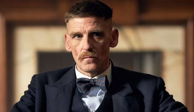 Paul Anderson plays Blinders' muscle Arthur Shelby (Credit: BBC)