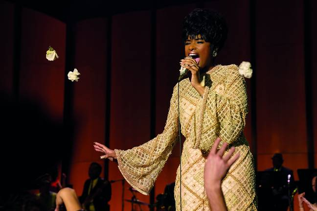 The movie follows the rise of Aretha Franklin's career from a childhood of singing in her father's church's choir to international superstardom (Credit: MGM)