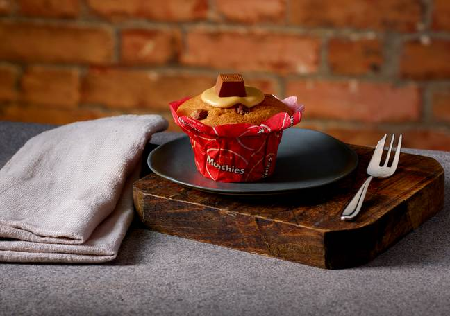 Also gracing the new menu is a Caramel Muffin made from Munchies (Credit: Costa)