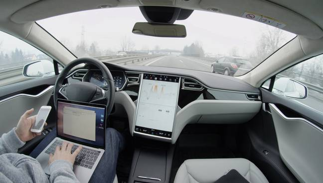 The new tech will allow drivers to do other tasks such as answer emails and calls (Credit: Shutterstock)