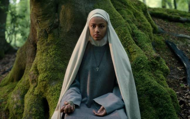 Shalom Brune-Franklin ('Our Girl') stars as Igraine (Credit: Netflix)
