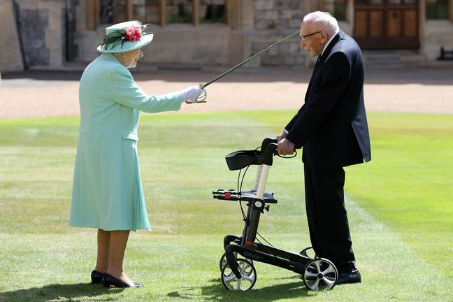The ceremony took place at Windsor Castle (Credit: PA)