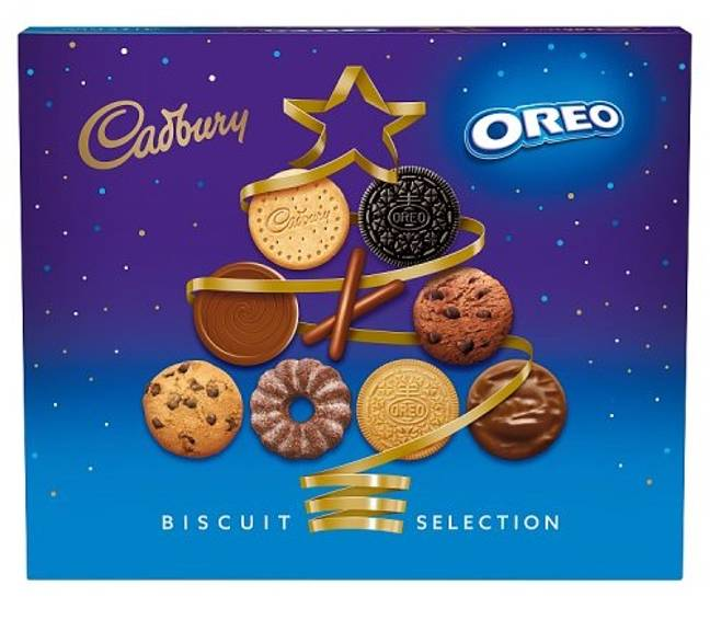 You can also get your hands on a Cadbury and Oreo biscuit selection box (Credit: Cadbury)
