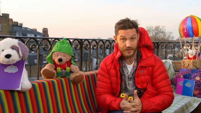 Tom has been requested one million times since he first appeared on Bedtime Stories in 2016 (Credit: CBeebies)