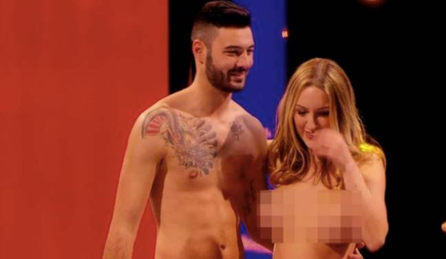 Tracy and Mark met on the Channel 4 show (Credit: Channel 4)