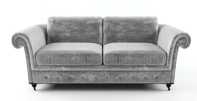 Becky wanted a pricy velvet sofa she'd spotted online (Credit: Shutterstock)