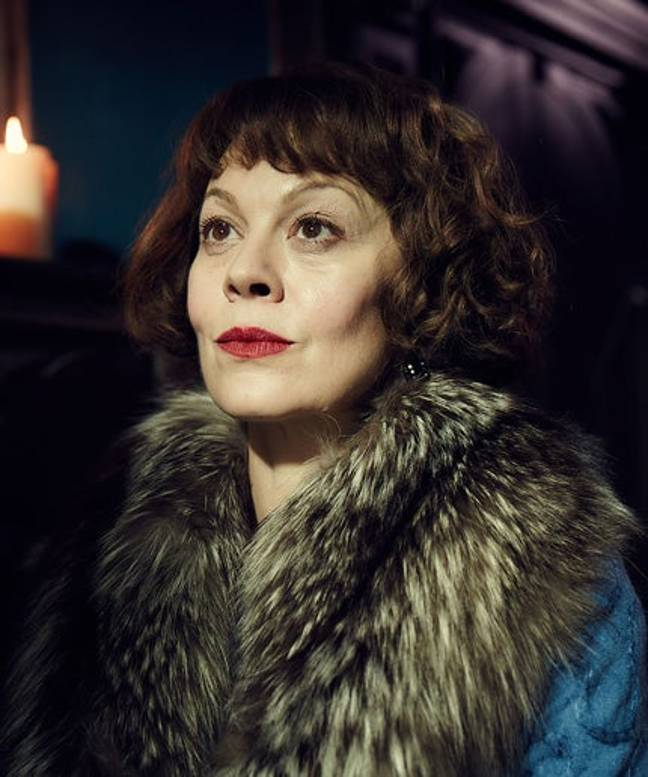 The late Helen McCrory, who played Polly Gray in Peaky Blinders, was honored at the ceremony last night (BBC Credit)