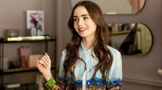 Lily Collins stars as the titular character, Emily Cooper (Credit: Netflix)