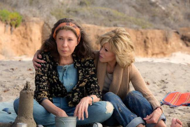 Both series' feature best friends in seaside homes (Credit: Netflix)