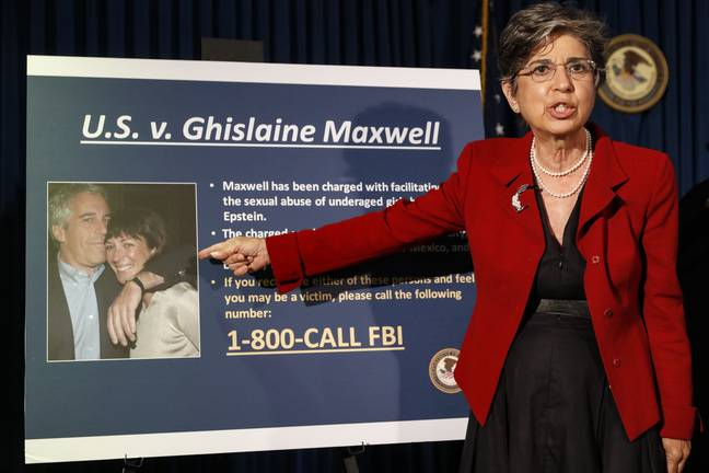 An international manhunt for Ghislaine Maxwell was launched (Credit: Shutterstock)