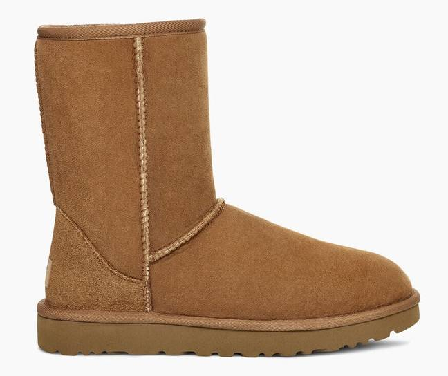 Anyone else dug out their tall UGGs this winter? (Credit: UGG)