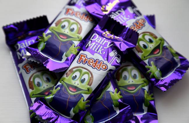 Freddos have had a fruity makeover (Credit: PA)