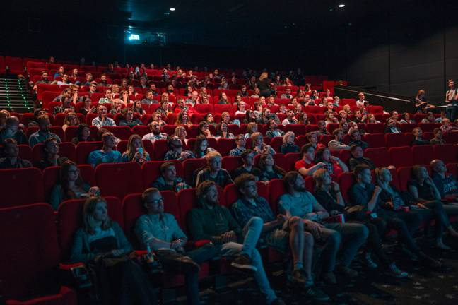 Slightly different from your usual cinema experience, the screening room will raise lighting levels a little higher than. (Credit: Unsplash)