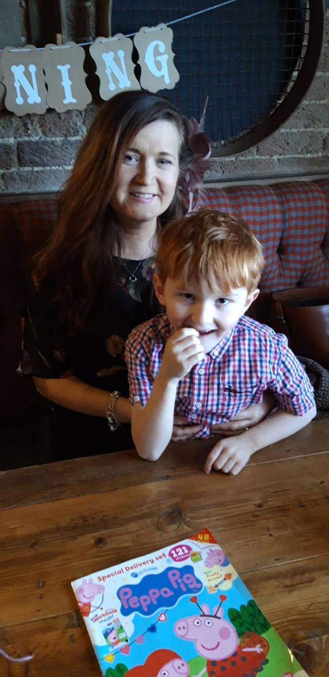 Sarah had spent £1000 on the new furniture hoping to make a new home for her and son Joel (Credit: Kennedy News)