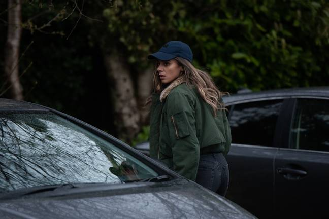 Hannah John-Kamen will play 'The Stranger' a mysterious woman who exposes people's secrets. (Credit: The Strange/Netflix)