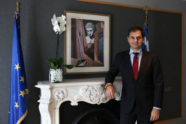 Greek tourism minister Harry Theoharis is keen to continue travel (Credit: PA)