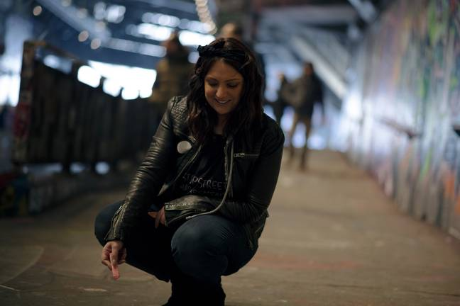 Catcalls of London founder Farah Benis pictured above. Credit: Rebecca Hocknell