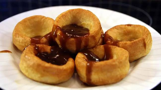 We like our Yorkshires with lashings of gravy (Credit: PA)