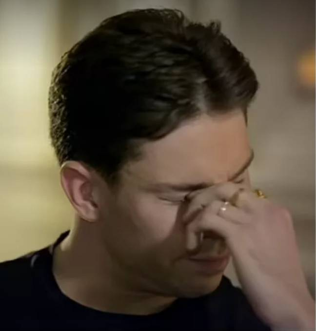 Joey Essex breaks down in new BBC documentary (Credit: BBC)