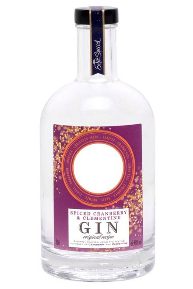 The Spiced Cranberry and Clementine gin will cost £18 for 70cl. Credit: ASDA
