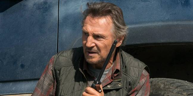 Neeson is currently starring in The Marksman (Credit: Briarcliff Entertainment)