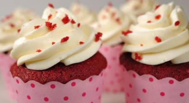 The drink tastes just like red velvet cake (Credit: Flickr)