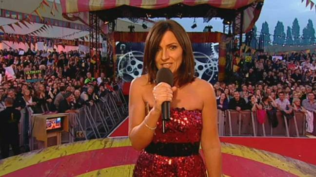 Davina McCall originally hosted the show on Channel 4 (Credit: Channel 4)