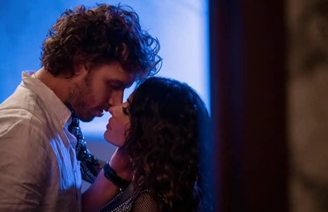 The series stars Sarah Shahi and Adam Demos (Credit: Netflix)
