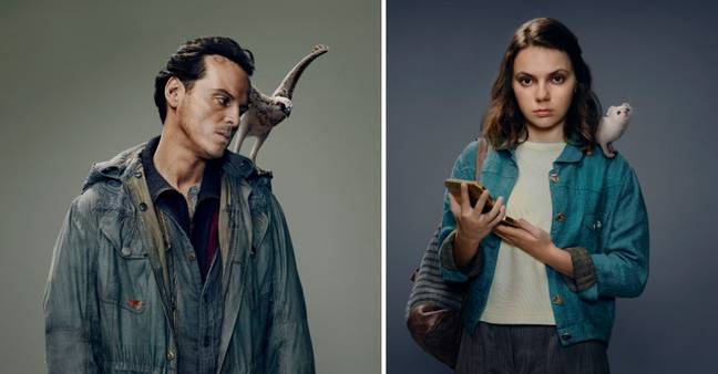 Andrew Scott and Dafne Keen are among stars in the promo images (Credit: BBC)