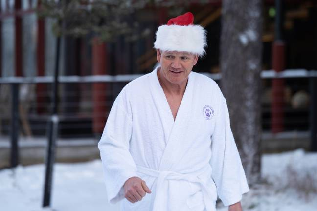 Gordon was keen for the trip to be festive (Credit: ITV/ Shutterstock)