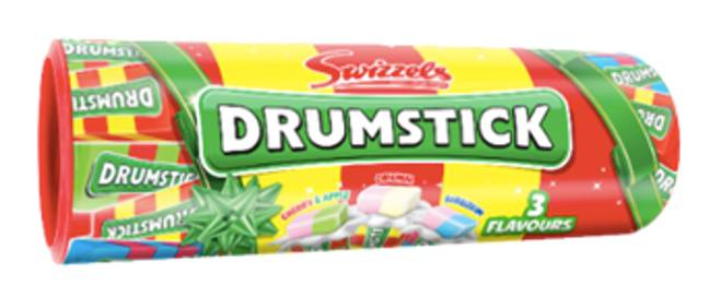 The Drumstick gift tube (Credit: Swizzels)